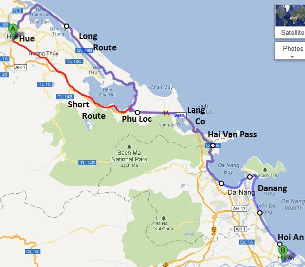 Hue Hai Van Pass Danang Hoi An Vietnam Coracle
