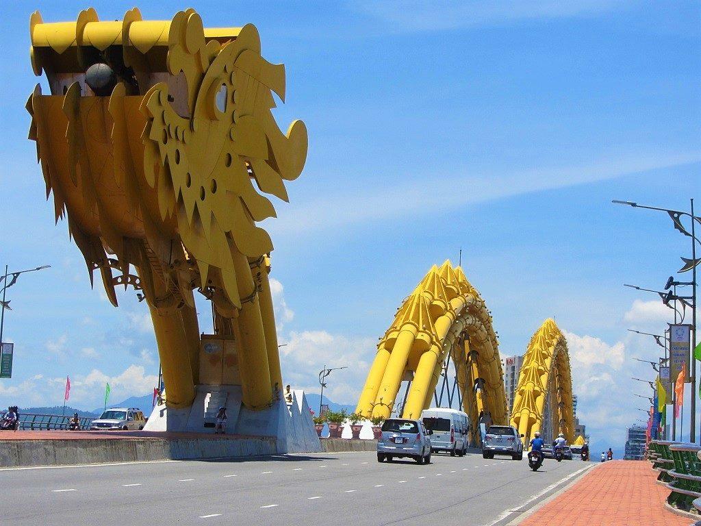 Cầu Rồng (Dragon Bridge), Danang City, Vietnam