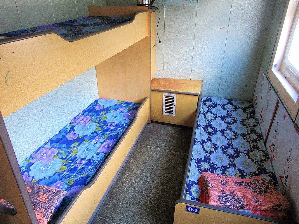 Sleeping berths on the Vung Tau to Con Dao ferry, Vietnam