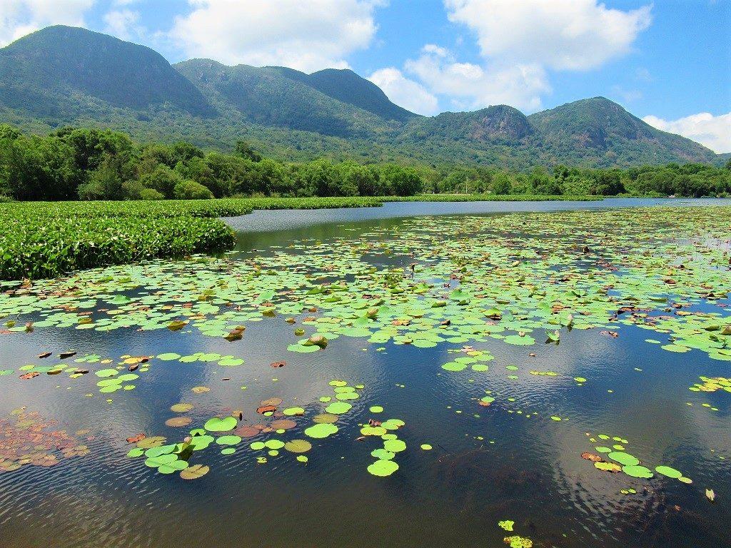 Lake & mountains, Con Son Island, Con Dao, Vietnam