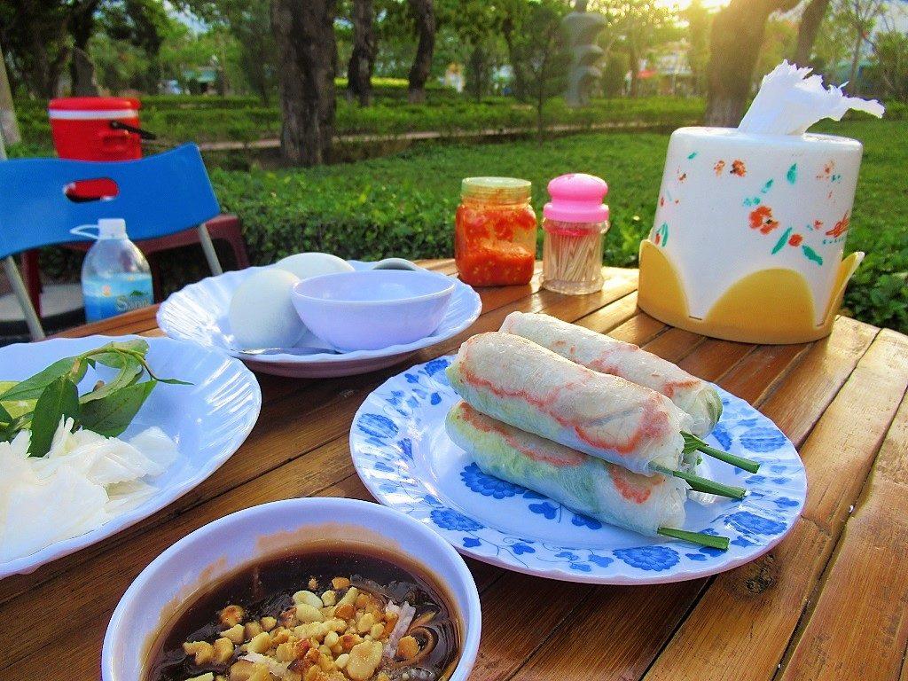 Street food, Con Son town, Con Dao Islands, Vietnam