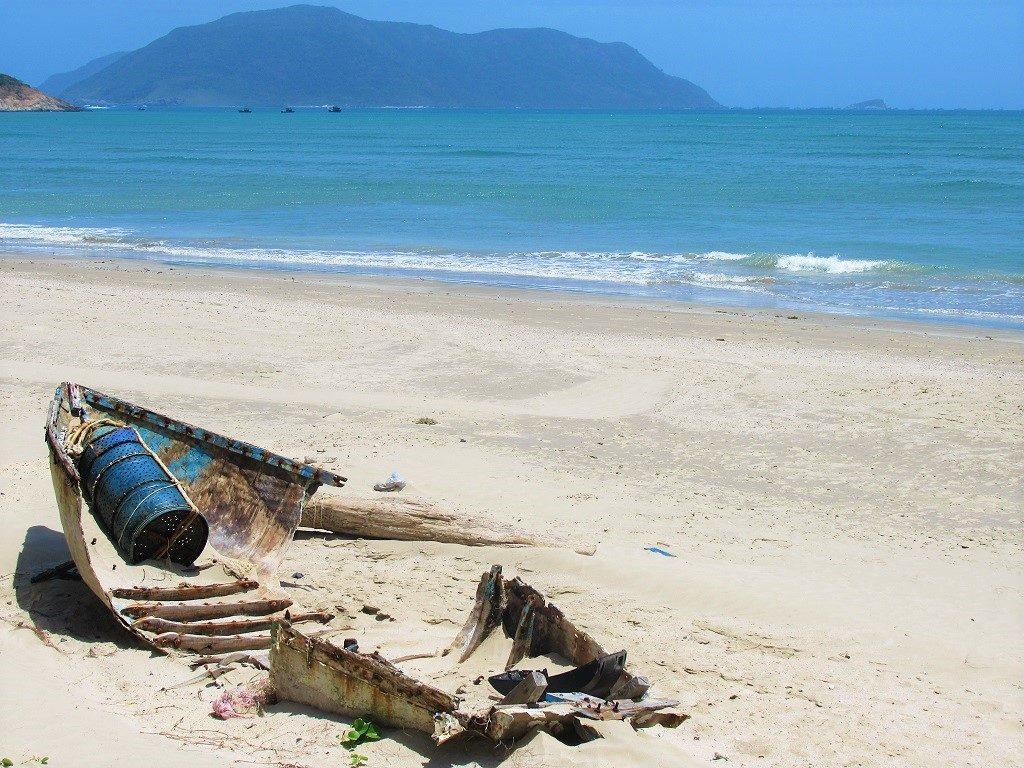 Shipwreck, Con Son Island, Con Dao, Vietnam