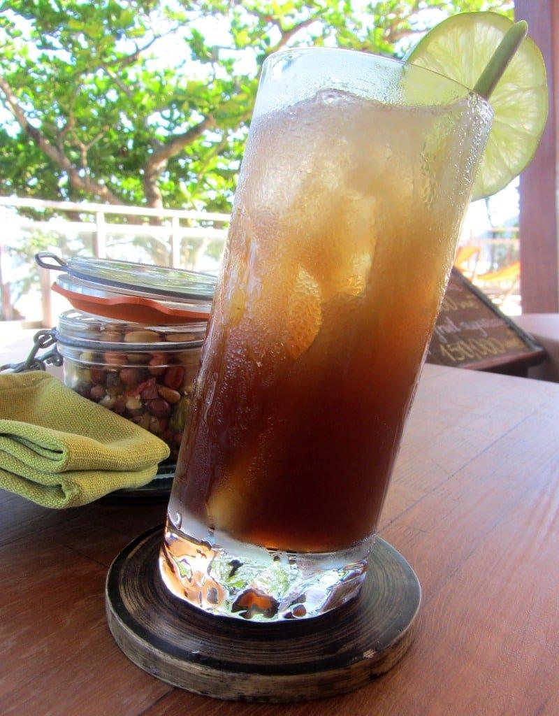 Cocktails at Six Senses Resort