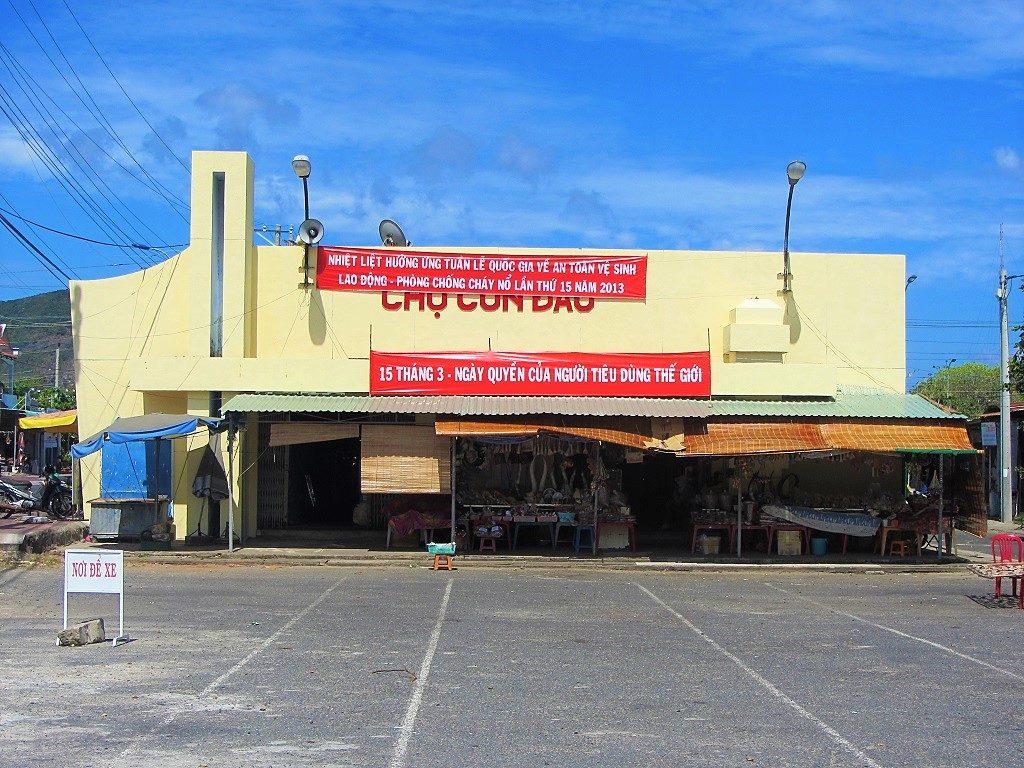 Con Dao market, Con Son town, Vietnam