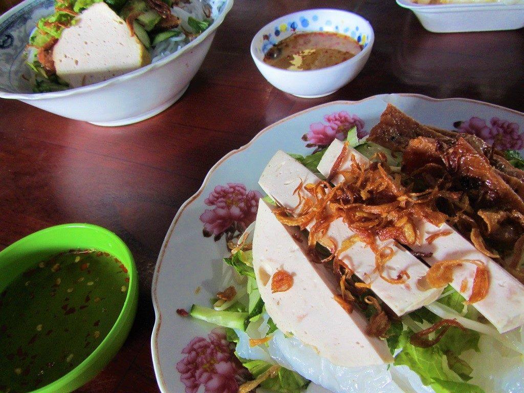 Breakfast food at Con Dao Market, Con Son Island, Vietnam