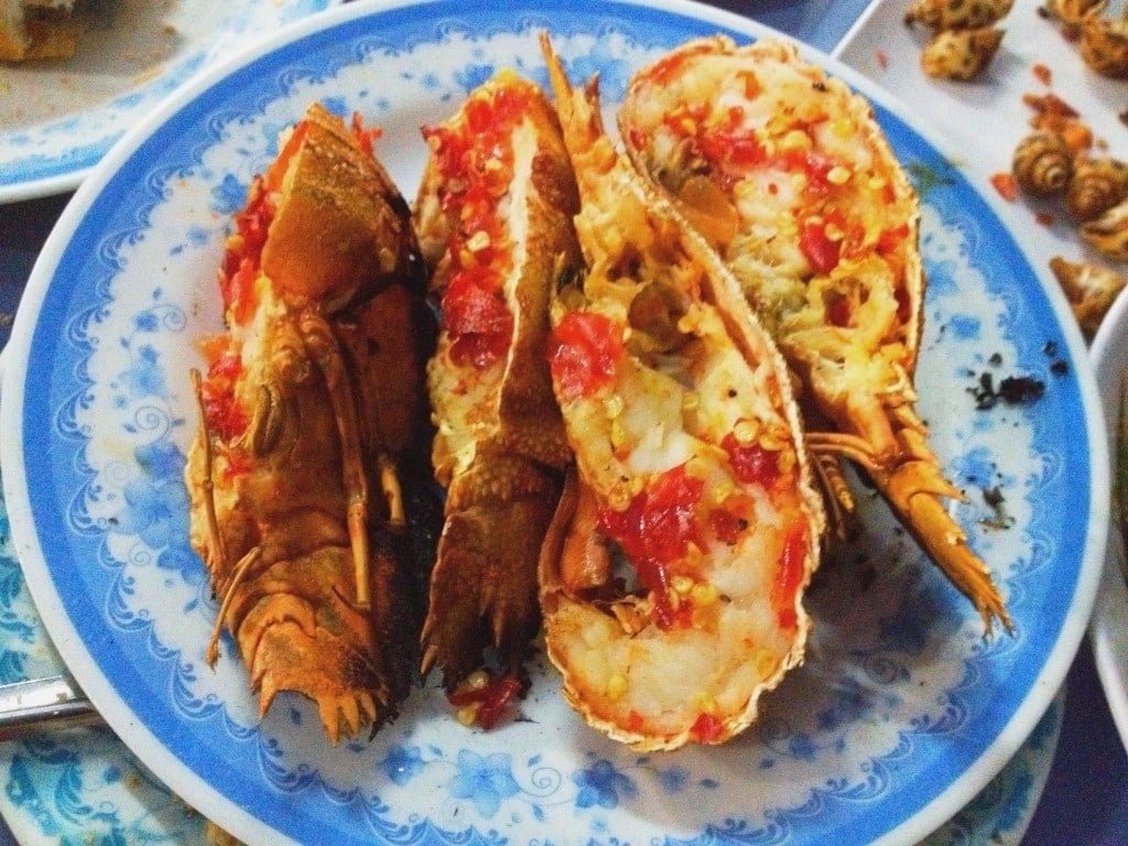 Slipper lobster, Saigon, Vietnam