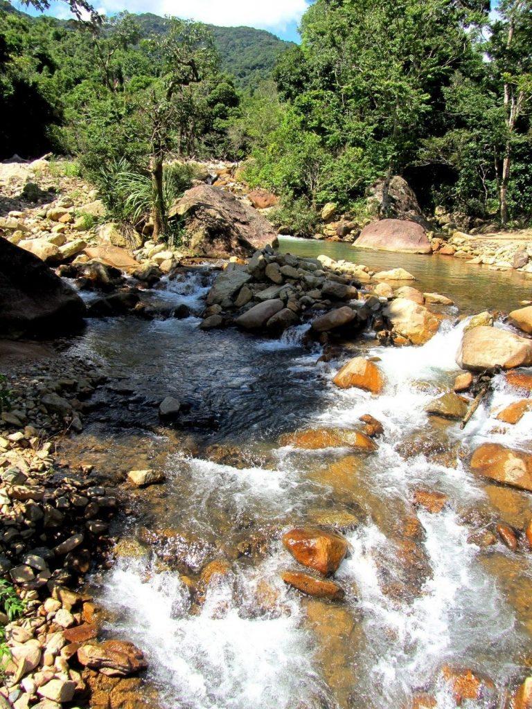 Waterfall near Lang Chánh