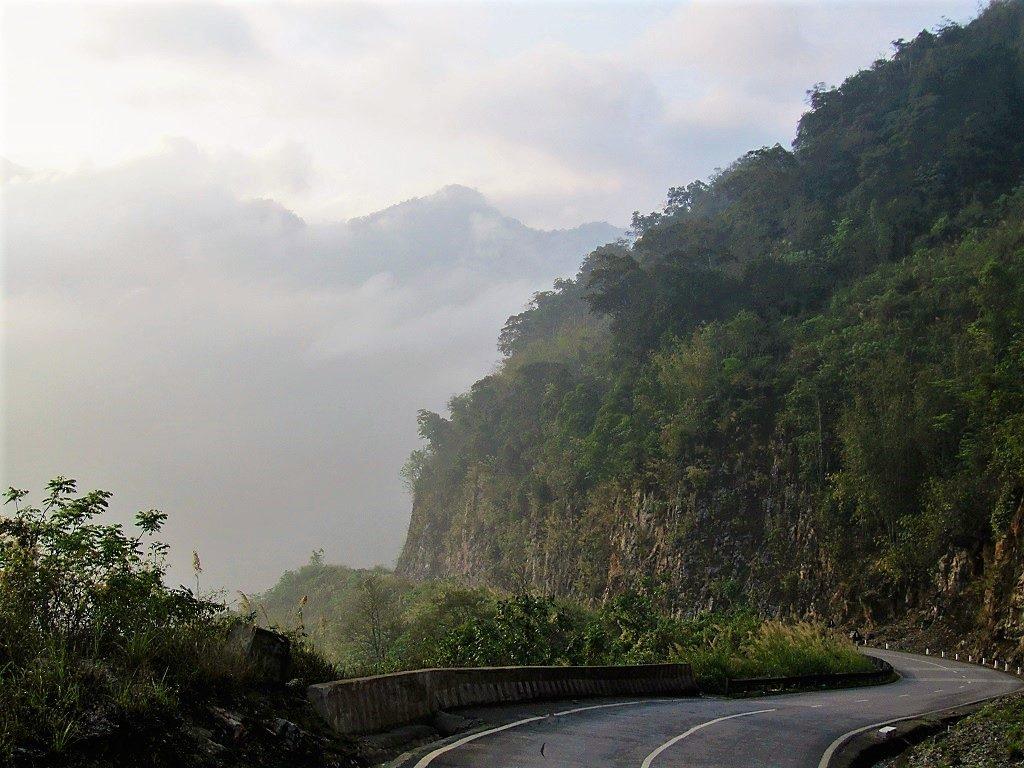 The Thung Khe Pass, Hoa Binh Province, Vietnam