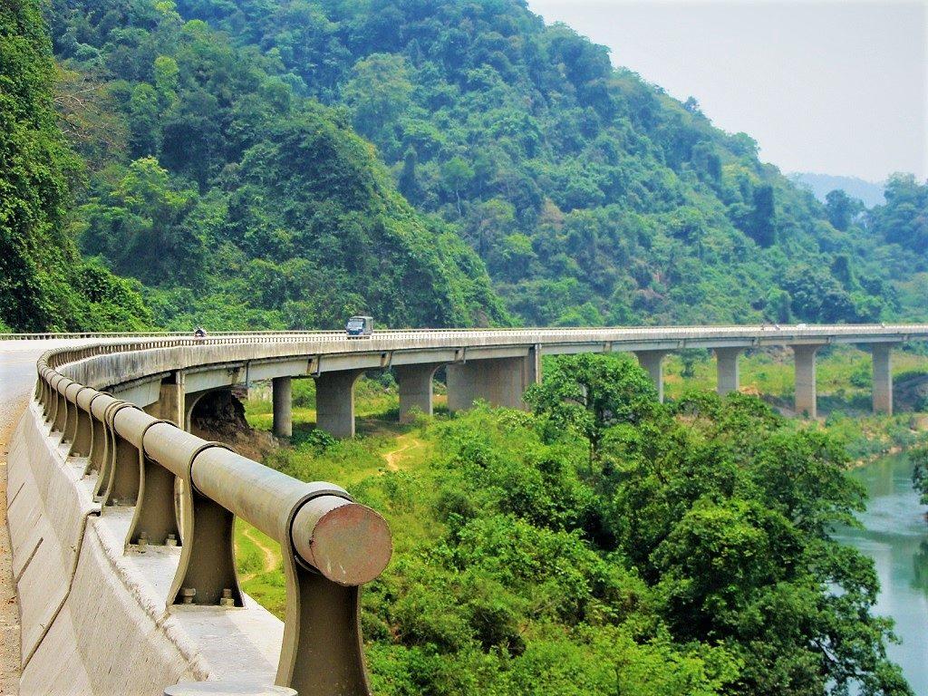The Ho Chi Minh Road, Cuc Phuong National Park, Vietnam