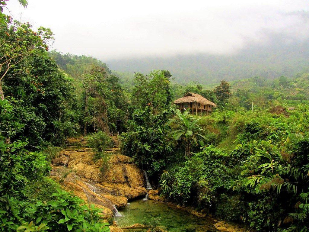 Ban Hieu homestays, Pu Luong Nature Reserve, Thanh Hoa Province, Vietnam