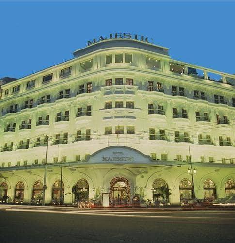 Majestic Hotel: opened 1925