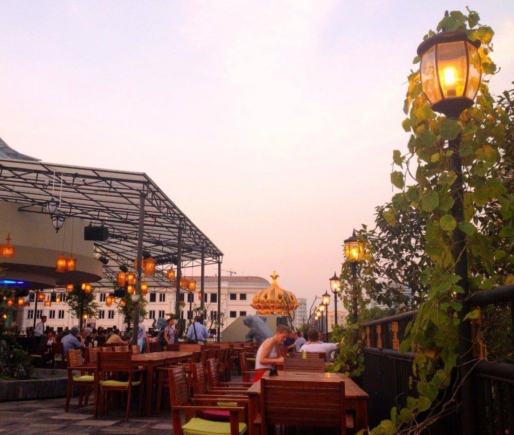 The Rex Rooftop Garden Bar: overrated