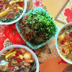 Bún Riêu is full of colour & flavour