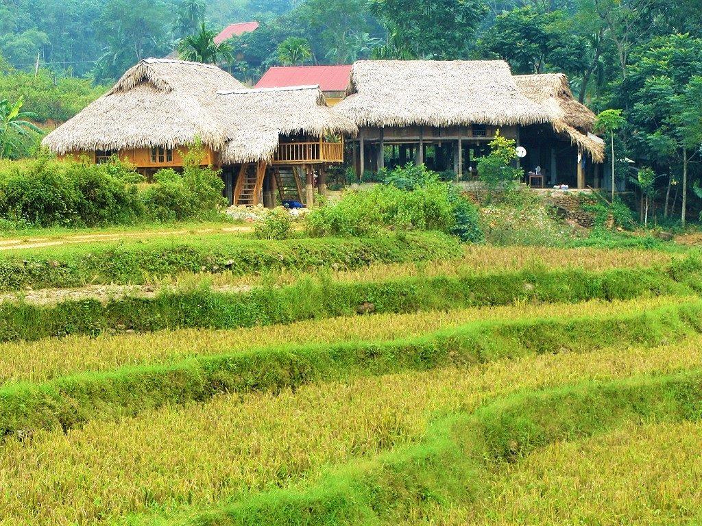 Kho Muong homestays, Pu Luong Nature Reserve, Vietnam