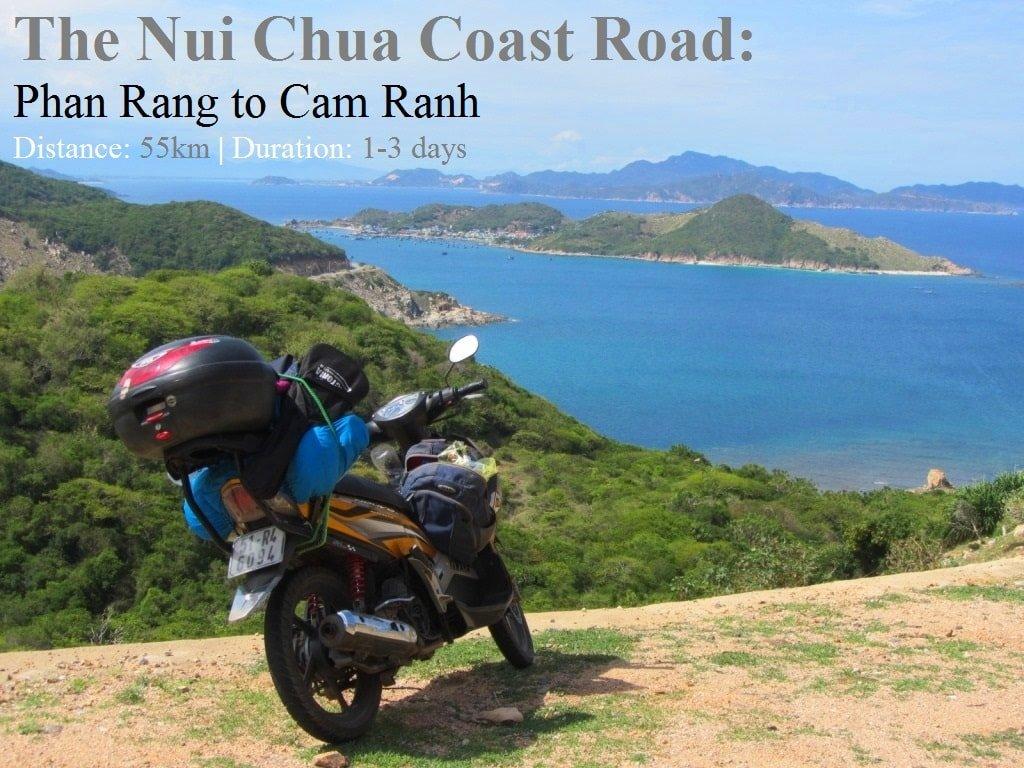 The Nui Chua Coast Road, Ninh Thuan, Vietnam