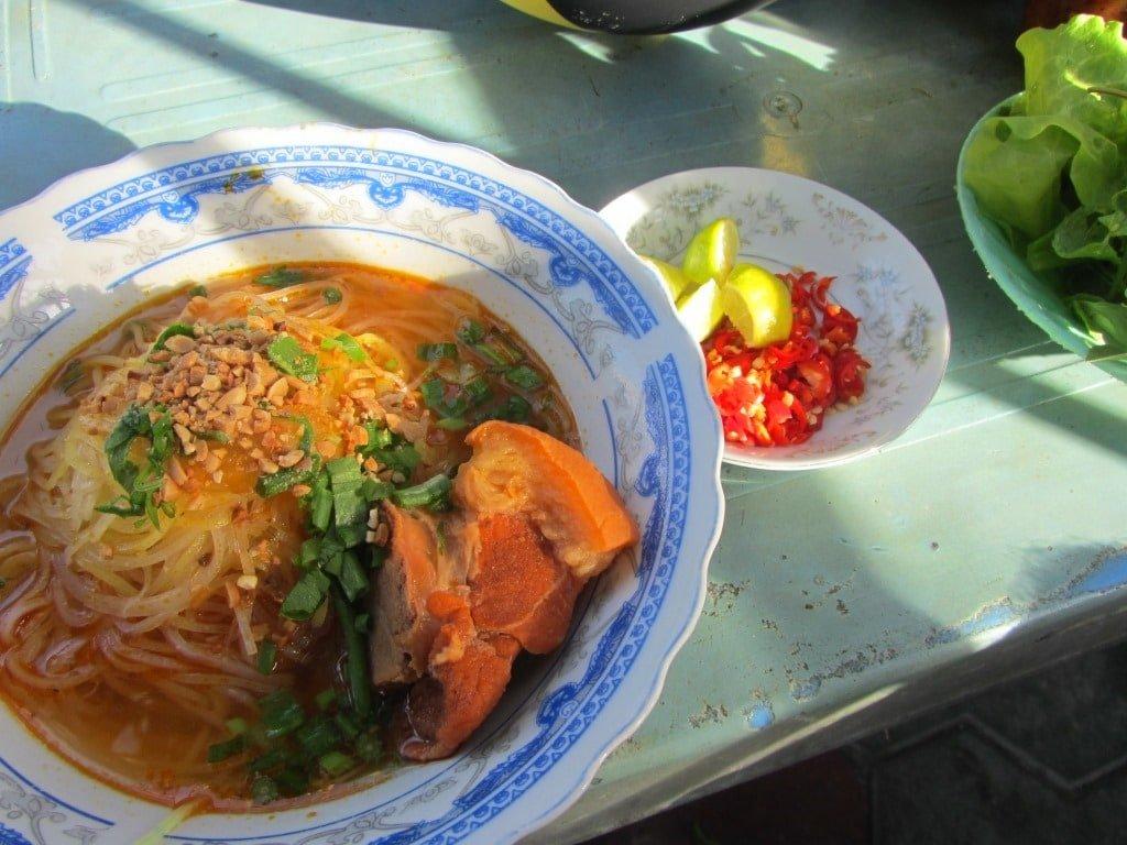 Street food in Phan Ri Cua, Vietnam
