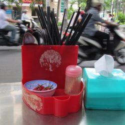 Street eating in Saigon