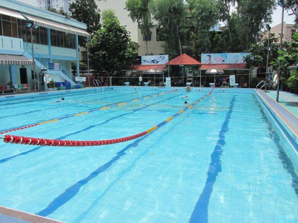 Ky Dong Swimming Pool, Saigon