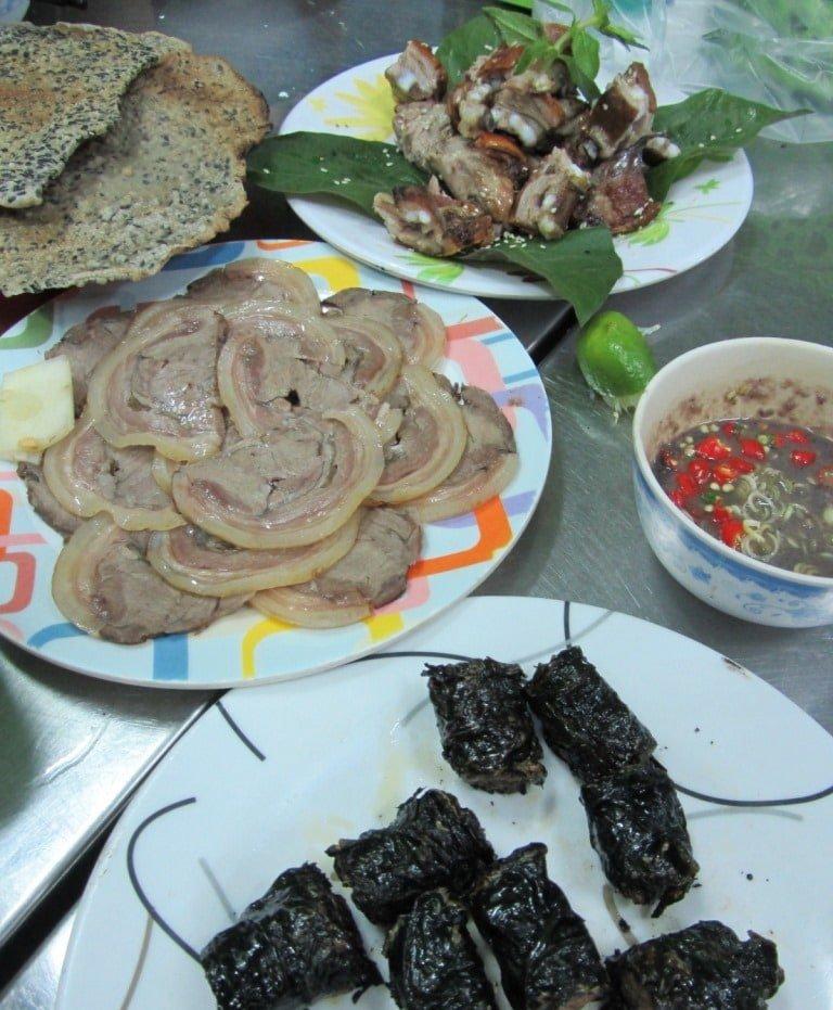 Feast: dog meat