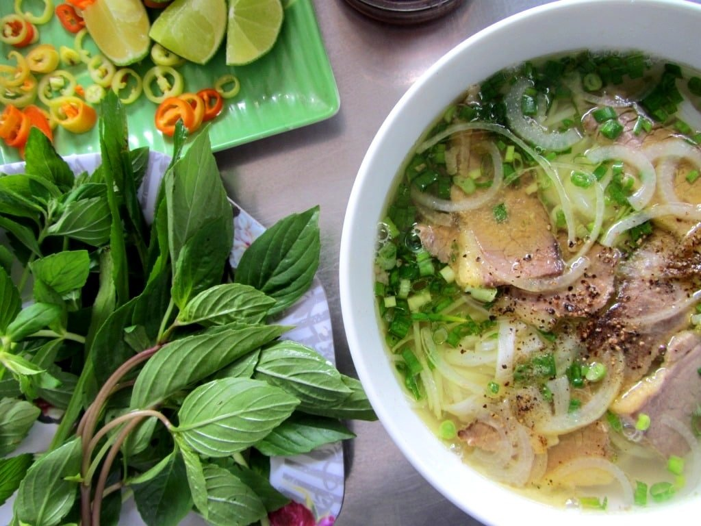 Phở: beef noodle soup