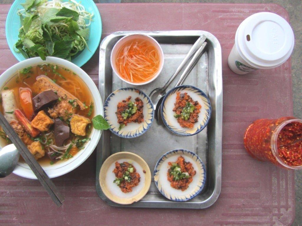 Street food variety