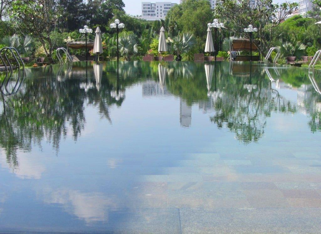 Anna Sanctuary Spa swimming pool, Saigon, Vietnam