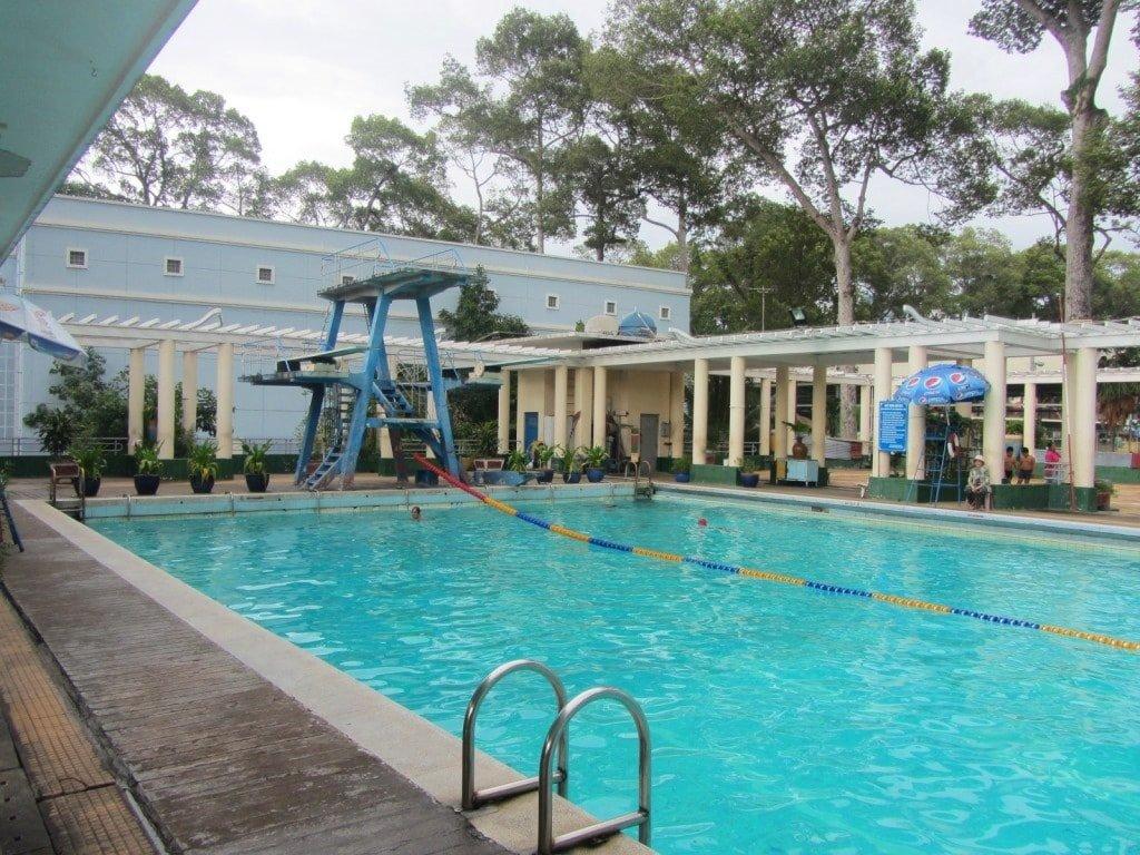 Lao Dong Swimming Pool, Saigon