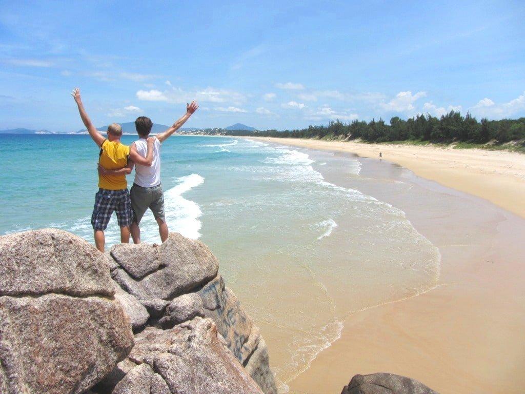 Hon Gom Sandbar Beach, Vietnam