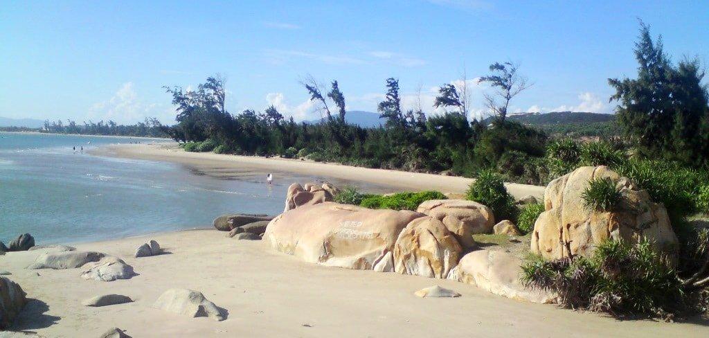 Beach north of Kê Gà