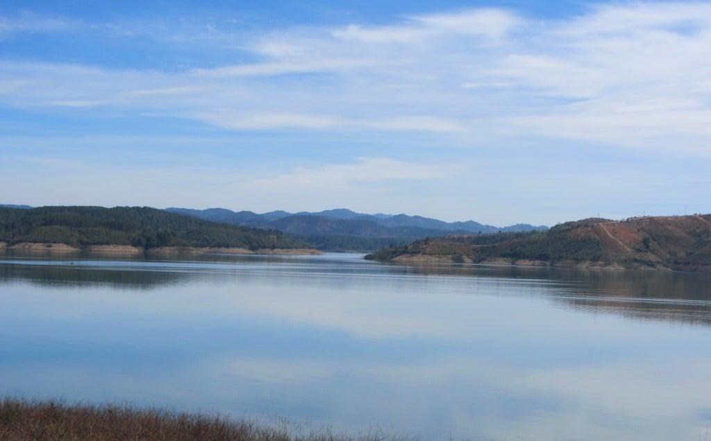 Reservoir near Ninh Gia, 40km south of Dalat