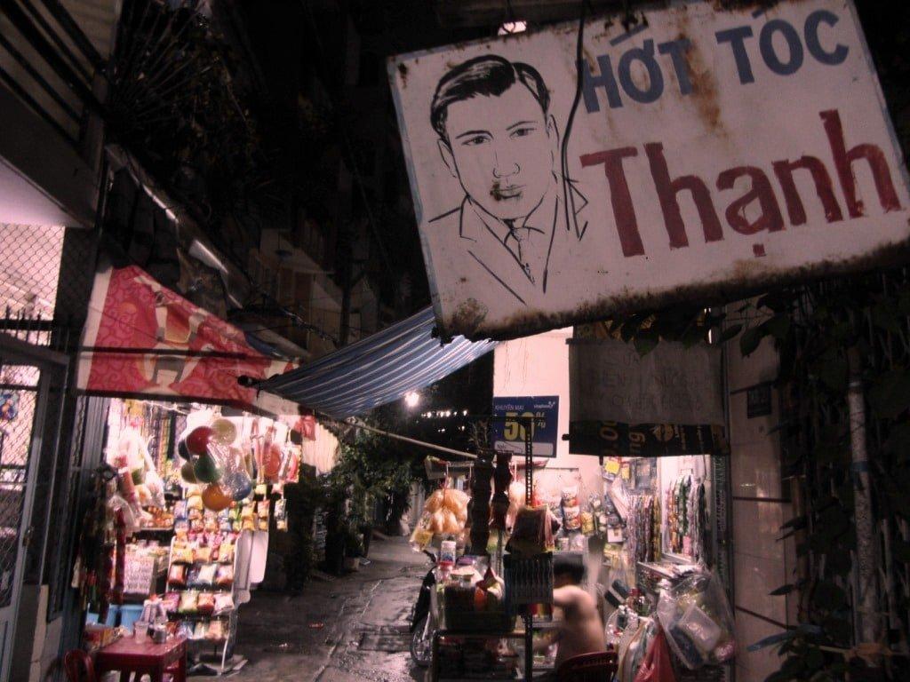 Tran Hung Dao alleyways, Saigon, Vietnam