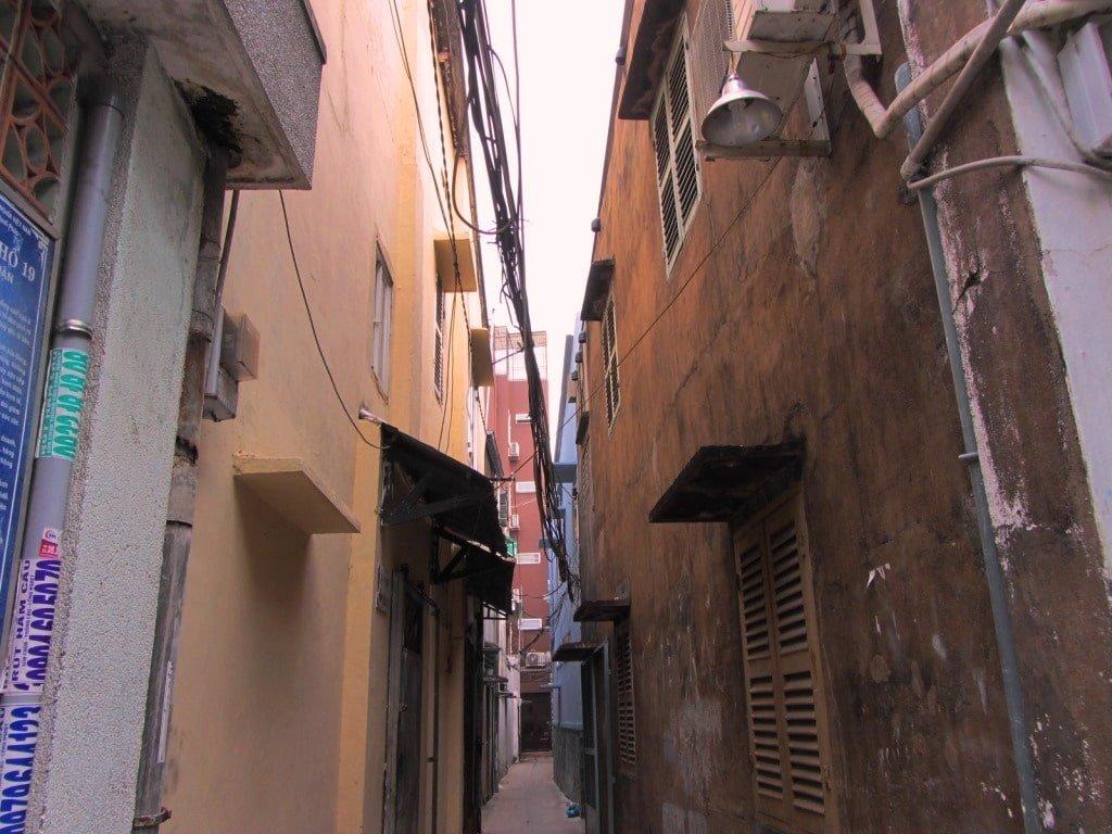 Phan Xich Long alleyways, Saigon, Vietnam