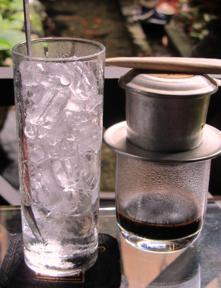 Vietnamese 'filter' coffee