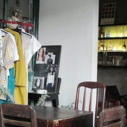 Mockingbird's trendy, small space