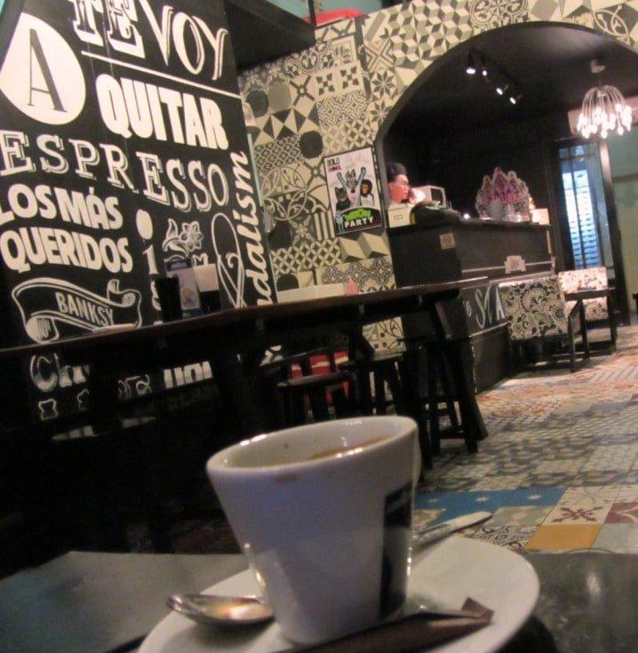 Stylish Banksy Sudio Cafe