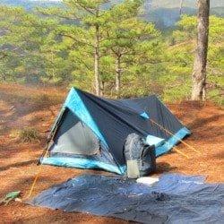 Camping in Dalat