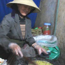 Ms Tâm cooking bánh tráng