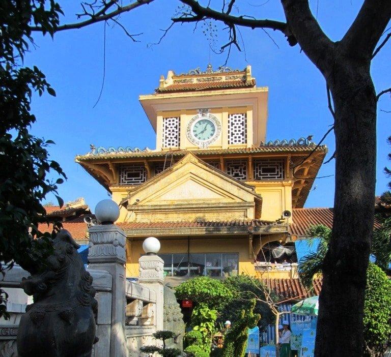 Beautiful facade: Binh Tay Market