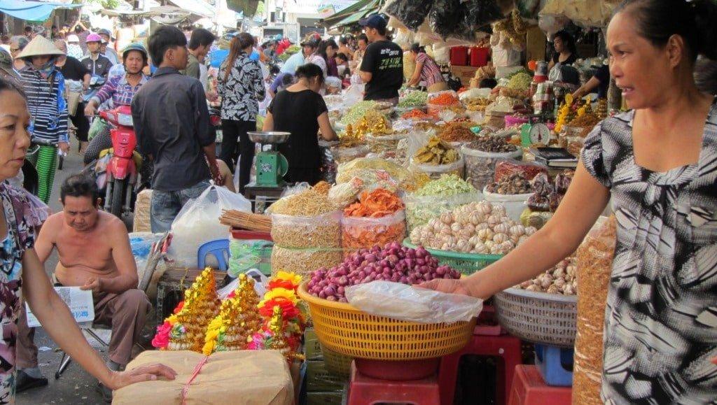 Thriving, bustling, vibrant: Saigon's markets