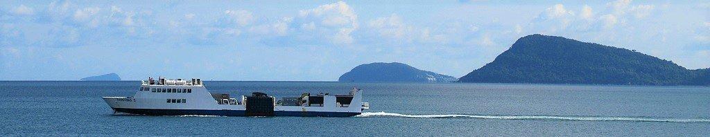 Phu Quoc Island by ferry boat, Vietnam