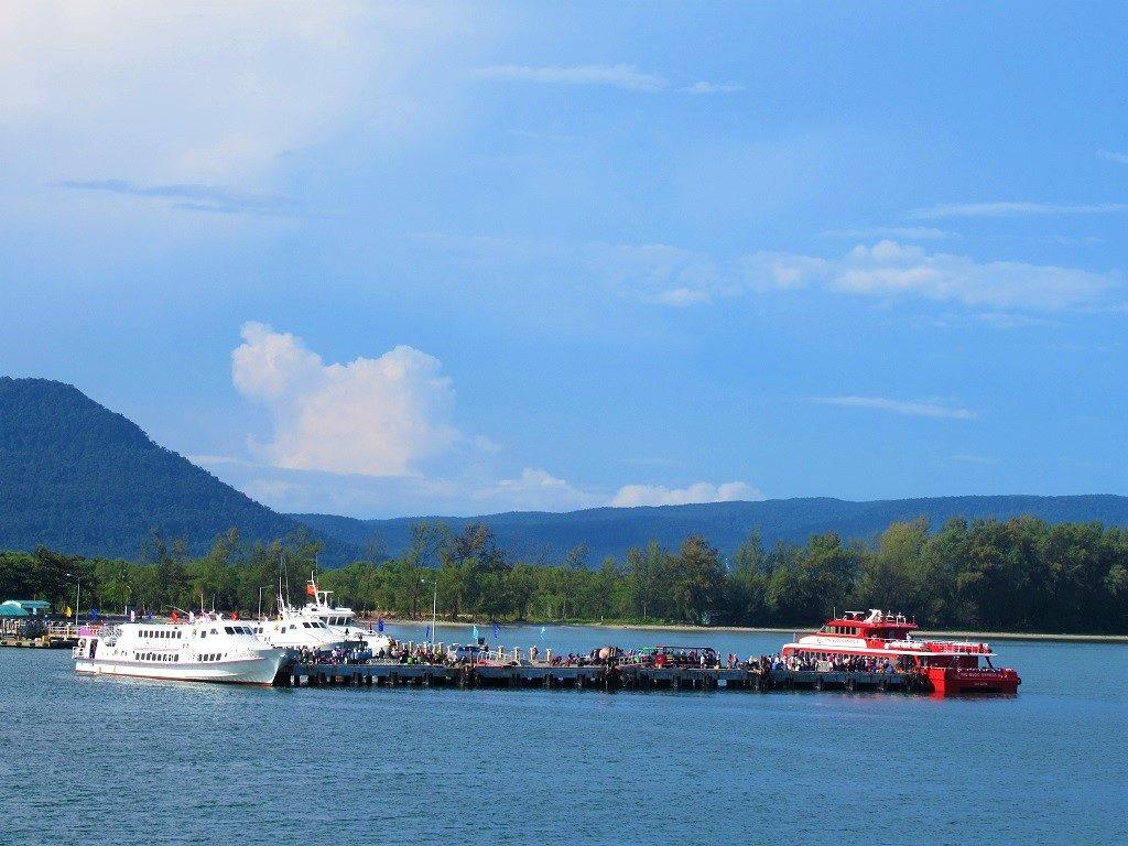 Bai Vong port, Phu Quoc Island, Vietnam