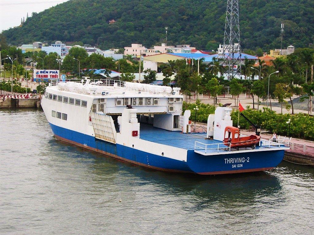 Thanh Thoi car ferry to Phu Quoc Island, Vietnam