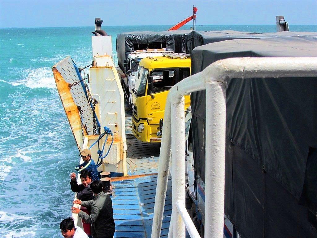 The ferry to Phu Quoc Island, Vietnam