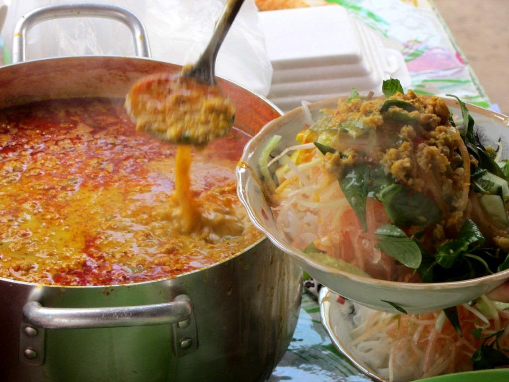 Bún kèn noodles at Út Lượm, Duong Dong, Phu Quoc