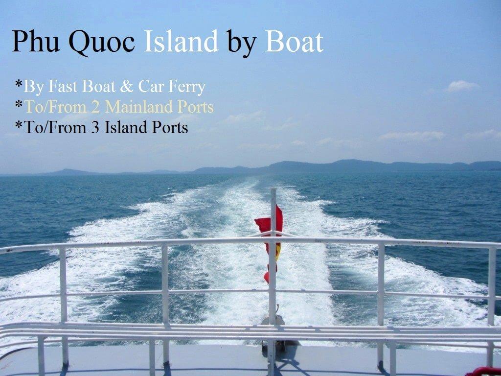 Phu Quoc Island Ferry Boat, Vietnam