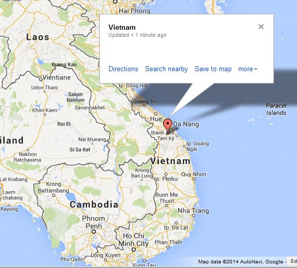 Google Maps, Vietnam