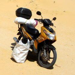 My Motorbike, Stavros: 200,000km
