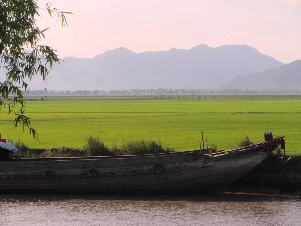 The Vietnam-Cambodia border, Mekong Delta