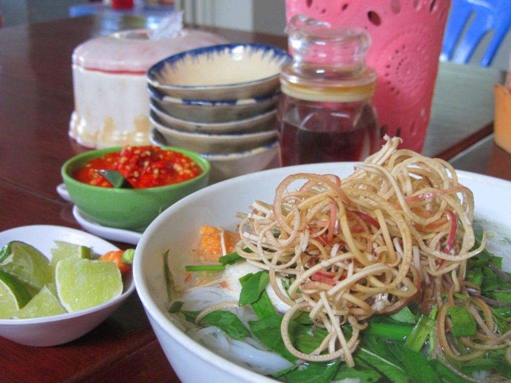 Noodle soup, Ha Tien, Mekong Delta, Vietnam