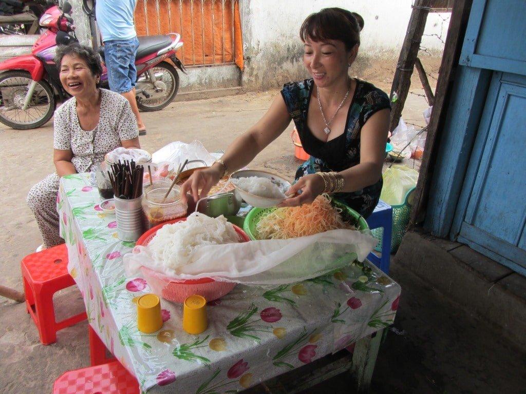 Bún kèn, Phu Quoc seafood soup, Vietnam